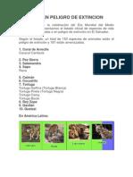 ESPECIES EN PELIGRO DE EXTINCION.docx