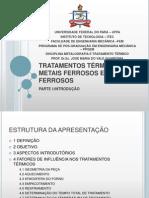 1 INTRODUÇÃO TRATAMENTO TÉRMICO.ppt