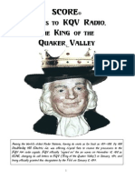 SCORE on Radio - Thanks to KQV Radio, The King of the Quaker Valley by SCORE Chair Barry J. Lipson