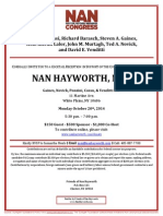 Cocktail Reception for Nan Hayworth