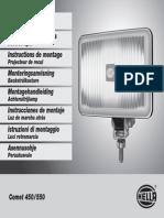 Ficha Tecnica Faros Hella 450-550 Series