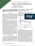 Lightning Overvoltages on Rural Distribution Lines.pdf