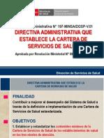 Cartera de Servicios de Salud 2014 Huancavelica.pptx