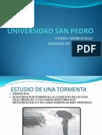 HIDROLOGIA CLASE 4 ESTUDIO DE TORMENTAS.pptx