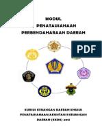 Modul 5 Penatausahaan Perbendaharaan 2013