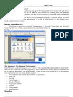 Visual Basic 6.0 Notes short