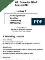 CAD modeling concept