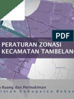 Ringkasan Eksekutif Peraturan Zonasi Kecamatan Tambelang 2011-2031