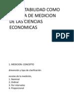 la contabilidad como un sistema de medición económica