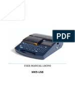 LM-390A Operation Manual in English
