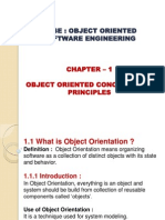 OBJECT ORIENTED CONCEPTS AND PRINCIPLES