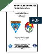 Contoh Perangkat Administrasi Pembalajaran Kurikulum 2013 (Komputer akuntansi)