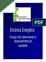 Eficiência Energética - Energia - Fator determinante para o desenvolvimento da sociedade.pdf