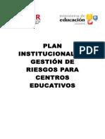 Plan Institucional de Gestión de Riesgos para Centros Educativos 2.doc