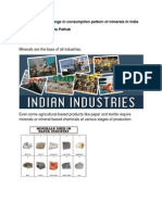 Change in Consumption Pattern of Minerals in India_finalmodifiednew