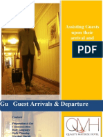 Guest Arrivals and Departures Manual