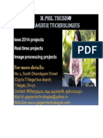 M.Phil thesis and projects in chennai