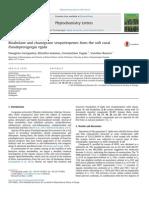 Georgantea Et Al. - 2014 - Bisabolane and Chamigrane Sesquiterpenes From the Soft Coral Pseudopterogorgia Rigida