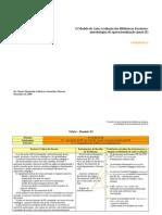 O Modelo de Auto-Avaliação das Bibliotecas Escolares-metodologias de operacionalização - Parte II