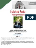 Macquarie - India Auto Sector