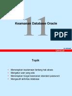 11 - Keamanan Database Oracle