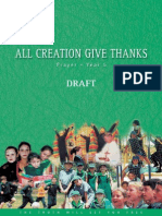 all creation gives thanks