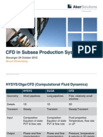 9 CFD in Subsea Prod