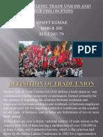 Ir Presentation Trade Unions