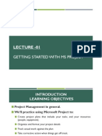 Introduction to Project Management with MS Project