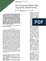 2. Development of Generalized Photovoltaic Model using Matlab.rtf