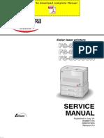 KYOCERA FS-8000C Service Manual Pages