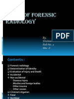 Scope of Forensic Radiology