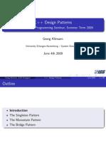 Design Pattern in C++