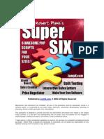 Robert Plank's Super Six