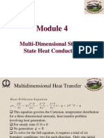 Multi-Dimensional Steady State Heat Conduction