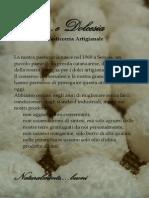 Brochure dessert