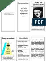 Folder de Teoria Da Personalidade