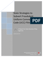 Final State Strategies to Subvert Fraudulent Uniform Commercial Code (UCC) Filings (A Report for State Business Filing Agencies)