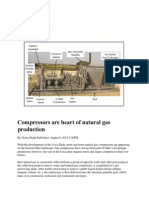 Compressors Are Heart of Natural Gas Production
