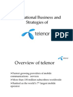 Overview of Telenor