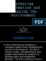 Gathering Information and Scanning the Environment 1