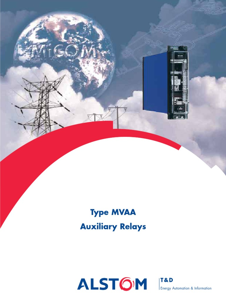 mvaa aux relay manual relay alternating current rh scribd com Starter Relay Wiring Diagram 5 Pin Relay Wiring Diagram