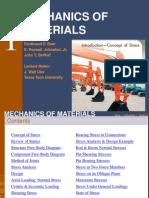 Mechanics Of Materials Chap 1