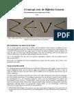 Een recursief concept voor de Bijbelse Genesis - Het symbolisme van de letters in de Zohar