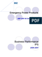 Emergency Power Products - ABP Presentation 07-08.ppt