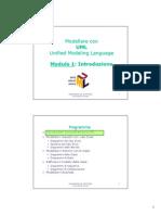 Corso UML - 1. Introduzione