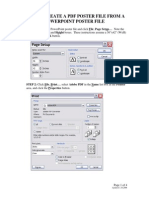 PDF Poster From PowerPoint Poster