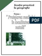 aplicatie  practica la geografie - protejarea mediului in localitatea natala donduseni.[conspecte.md].doc