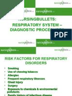 Respiratory Diagnostic Procedures
