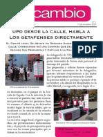Boletin Informativo de Upyd en Getafe